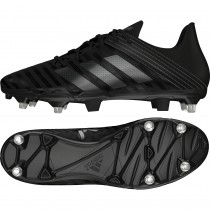 Adidas Malice Soft Ground Rugby Boots Core Black 2017