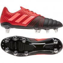 Adidas Kakari Elite (SG) Rugby Boots Core Black/Scarlett