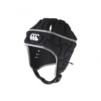 Canterbury Club Plus Headguard Kids - Black/Silver