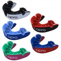 OPRO Self-Fit GEN4 Silver Junior Mouthguard