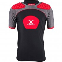 Gilbert Atomic V3 Body Armour Black/Red 2018