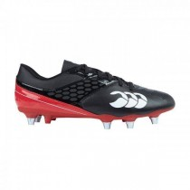 Canterbury Junior Phoenix Raze SG Rugby Boots 2018 Black/True Red