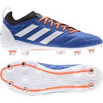 Adidas Malice Elite (SG) Rugby Boots Blue/White/Orange