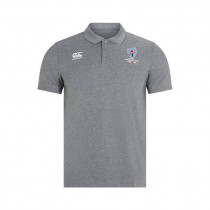 Canterbury RWC19 Cotton Pique Polo AM Static Marl 2019