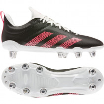 Adidas Kakari Soft Ground Rugby Boots 2020 Black/Pink/White