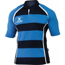 Gilbert Junior Xact Hooped Match Shirt