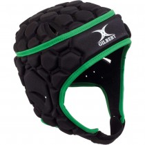 Gilbert Falcon 200 Junior Headguard Black/Green