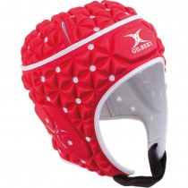 Gilbert Ignite Headguard Red