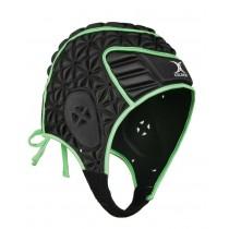 Gilbert Evolution Headguard Black/Green