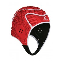 Gilbert Evolution Headguard Red/White