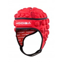 Kooga Red Essentials Headguard 2015