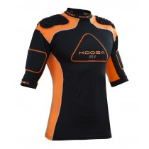 Kooga IPS Pro V Body Armour 2015 Black/Orange