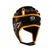 Optimum Junior Inferno Headguard Black Orange