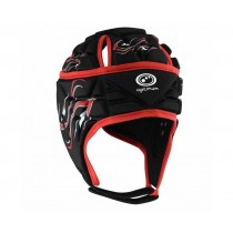 Optimum Junior Inferno Headguard Black Red