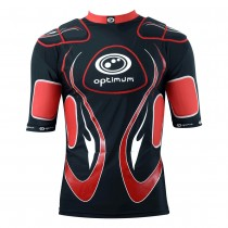 Optimum Inferno Body Armour Black Red