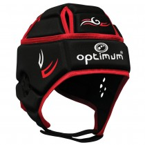 Optimum Hedweb Classic Tribal Headguard Black Red