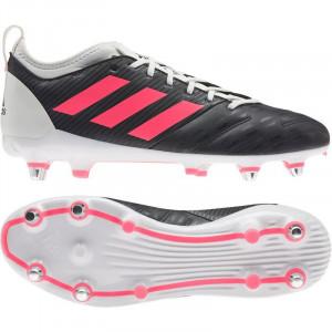 Adidas Malice Elite Soft Gound Rugby Boots 2020 Black/Pink/White