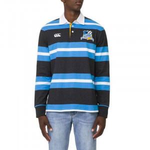 Canterbury Utility Yarn Dye Rugby Jersey Black