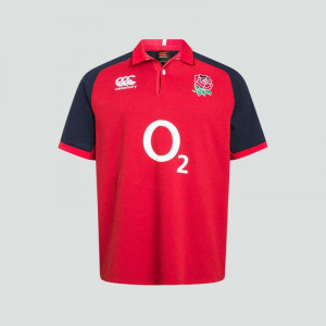 Canterbury England Vapodri ALT Short Sleeve Classic Jersey Union Red 2019