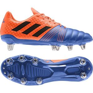 Adidas Kakari SG Rugby Boots Blue/Black/Solar Orange 2019