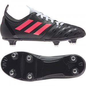 Adidas Malice Soft Ground Junior Rugby Boots 2020 Black/Pink/White