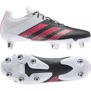 Adidas Kakari Elite Soft Ground Rugby Boots 2020 Black/Pink/White