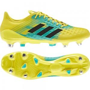 Adidas Predator Malice Control SG Rugby Boots Shock Yellow 2018