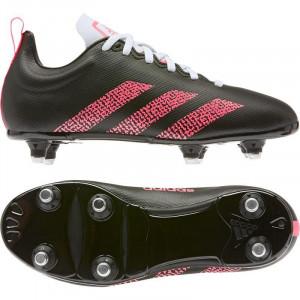 Adidas Kakari Soft Ground Junior Rugby Boots 2020 Black/Pink/White
