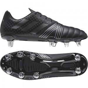 Adidas Kakari Soft Ground Rugby Boots Core Black 2017