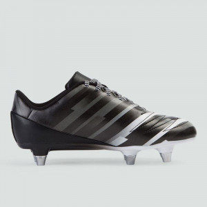 Canterbury Stampede 2.0 SG Junior Rugby Boots Black/White 2019