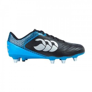 Canterbury Stampede 2.0 SG Rugby Boots 2018 Black/Brilliant Blue