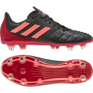 Adidas Predator Malice Control (SG) Rugby Boots Core Black/Scarlett