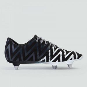Canterbury Phoenix 2.0 SG Junior Rugby Boots Black/White 2019
