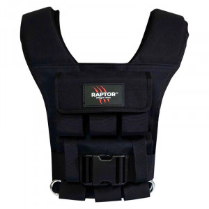 Raptor ELITE 15 Men's 8kg Resistance Training Weight Vest Small-Medium