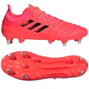 Adidas Predator XP Soft Ground Rugby Boots 2020 Pink/Black