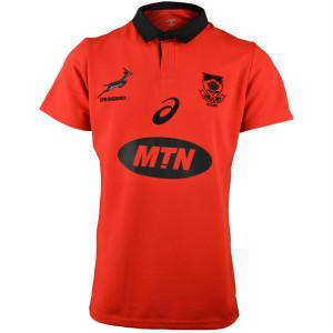 Asics Springboks Fan Shirt Fiery Red