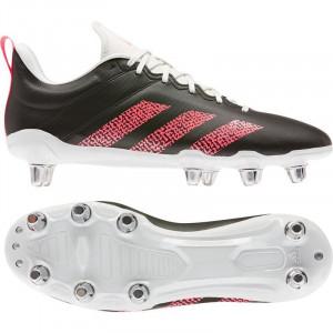 Adidas Kakari Soft Ground Rugby Boots 2020 Black/Pink/White
