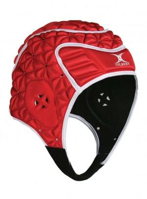 Gilbert Evolution Headguard Red/White
