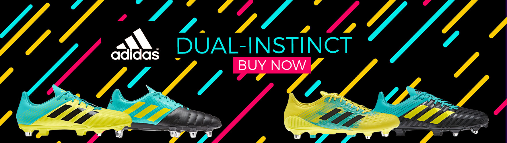 Shop Addias 2018 range rugby boots