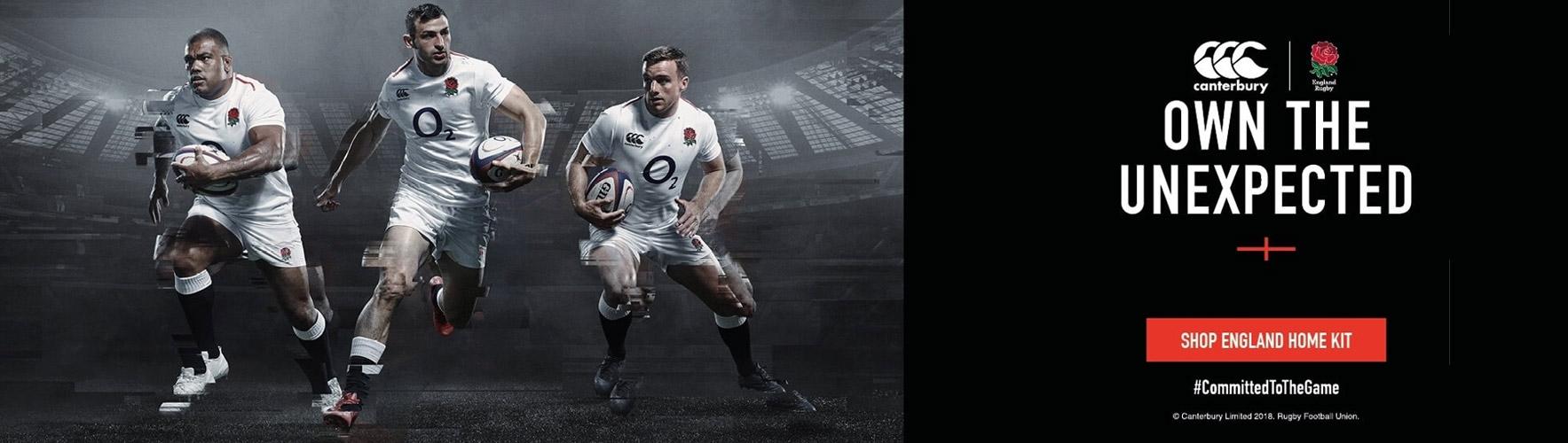 Shop England Rugby Replica 2019 Range